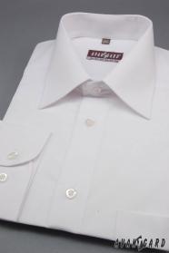 Pánská košile KLASIK s dlouhým rukávem Bílá