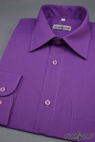 Pánská košile tmavě fialová