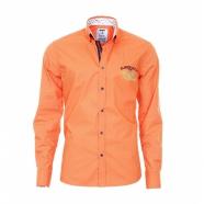 Pánská košile Pontto oranžová