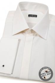 Smetanová košile SLIM - výprodej
