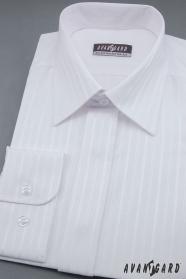 Bílá pánská košile svatební