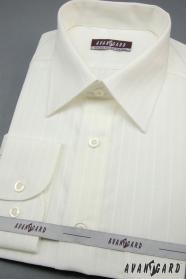Smetanová pánská košile výprodej