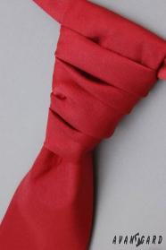 Svatební kravata bordó hladká