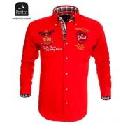 Červená sportovní košile Pontto