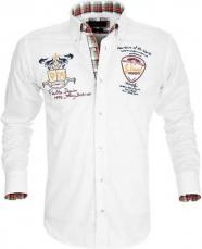 Bílá sportovní košile Pontto
