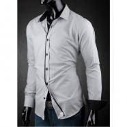 Pánská košile Victorio Světle šedá
