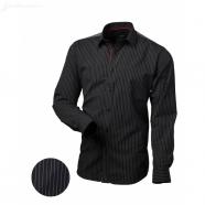 Pánská košile Victorio černá s proužkem