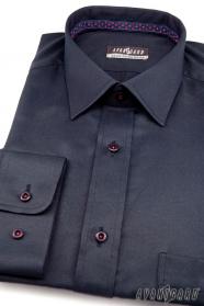 Tmavěmodrá košile výprodej
