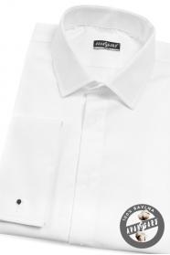 Pánská smokingová košile SLIM bílá