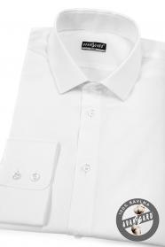 Pánská košile SLIM bavlněná bílá