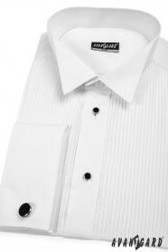 Pánská fraková košile SLIM se sadou knoflíčků