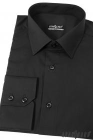 Pánská košile SLIM Černá