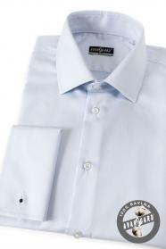 Pánská košile SLIM MK bavlněná světle modrá