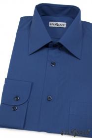Pánská košile KLASIK královská modrá