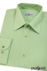 Pánská košile KLASIK dlouhý rukáv V8-Zelená