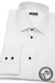 Bílá pánská košile KLASIK 100% bavlna