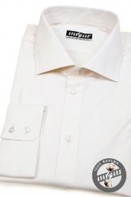 Pánská košile smetanová 100% bavlna