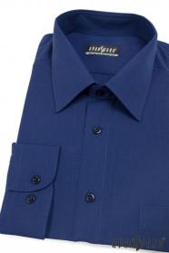 Pánská košile KLASIK královská modř