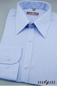 Pánská košile KLASIK středně modrá