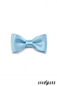 Blankytně modrý chlapecký motýlek