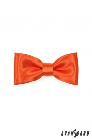 Cihlově oranžový chlapecký motýlek