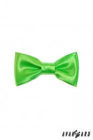 Výrazný zelený chlapecký motýlek