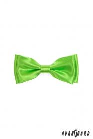 Motýlek chlapecký výrazná zelená