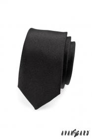 Kravata SLIM černá MAT