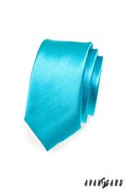 Kravata SLIM tyrkysová