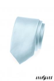Kravata SLIM nebeská modrá