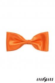 Pánský motýlek pomerančové barvy
