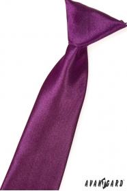 Chlapecká kravata Aubergine