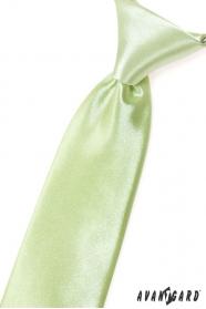 Limetkově zelená chlapecká kravata
