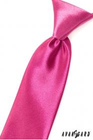 Fuchsiová chlapecká kravata