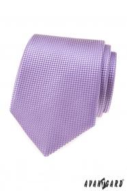 Pánská kravata v barvě lila