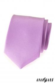 Kravata lila MAT