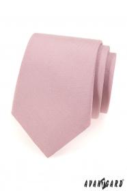 Kravata pudrová MAT