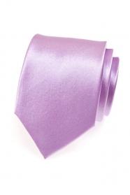 Světlá kravata v lila tónu