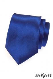 Pánská kravata výrazná královská modrá