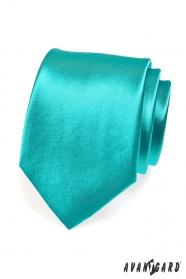 Tyrkysová kravata pro muže