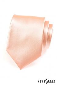 Pánská klasická kravata lososová