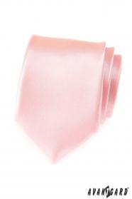 Pánská růžová kravata Pink