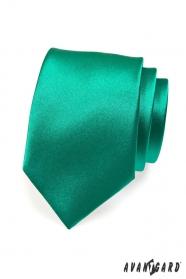 Kravata pro muže tmavězelená