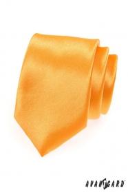 Pánská elegantní zlatá kravata