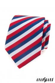 Pánská kravata Trikolóra Lux