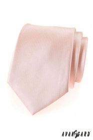 Pánská kravata lososové barvy