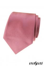 Starorůžová pánská kravata