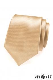 Béžová pánská kravata