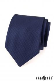 Tmavě modrá pánská kravata Avantgard