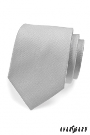 Světle šedá kravata